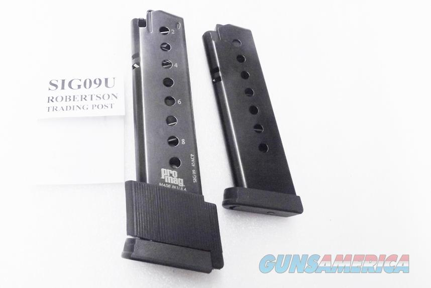 2 Magazines for Sig Sauer P220 Pistol Pro Mag One 7 and one 9 Shot Excellent 2x$19  Non-Guns > Magazines & Clips > Pistol Magazines > Sig