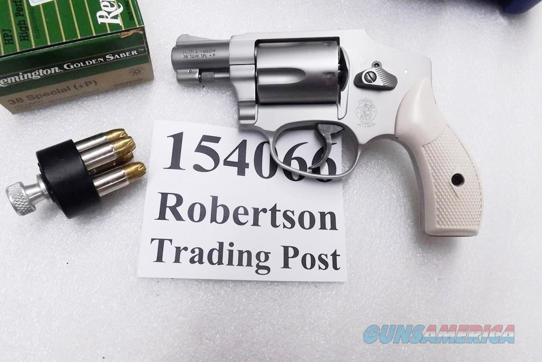 S&W .38 Special model 642-2 Centennial Airweight 163810 type Stainless Finish Choice of Pink, Ivory, or Black Combat Grips 38 Special +P with Internal Lock NIB Smith & Wesson 150466 CA OK  Guns > Pistols > Smith & Wesson Revolvers > Pocket Pistols