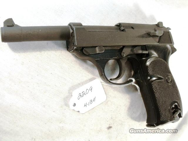 Walther 9mm P-38 Parkerized Lightweight VG 1963 Federal German Police Bundespolizei P1 P38  Guns > Pistols > Walther Pistols > Post WWII > P38