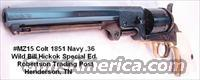 1851 Colt Navy Hickok .36 Pietta Engraved  Non-Guns > Black Powder Muzzleloading