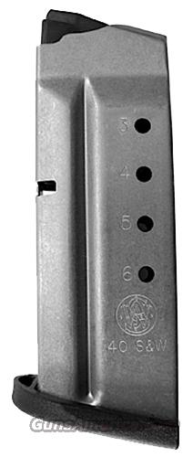 Smith & Wesson M&P Shield .40 S&W Factory 6 round Magazine 19933 M&P40 Flat Plate Buy 3 Ships Free!   Non-Guns > Magazines & Clips > Pistol Magazines > Smith & Wesson