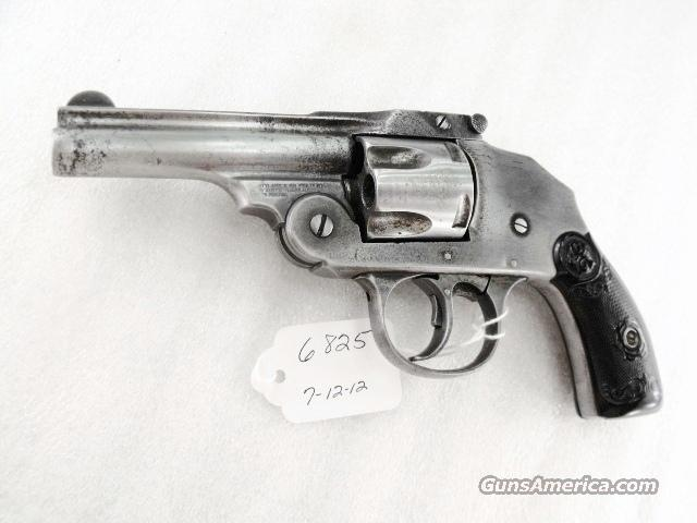 Iver Johnson .38 Smith & Wesson caliber Safety Hammerless Second Model Top Break ca. 1901 Fair 38 S&W Black Powder Cartridges Only Not Made for Smokeless Powder C&R OK  Guns > Pistols > Iver Johnson Pistols