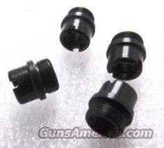 Colt Government Blue Grip Screw Bushings Set of 4 any 1911 JMA4518B fit Officers Armscor AOC Kimber any 1911 Family Pistol  Non-Guns > Gunstocks, Grips & Wood