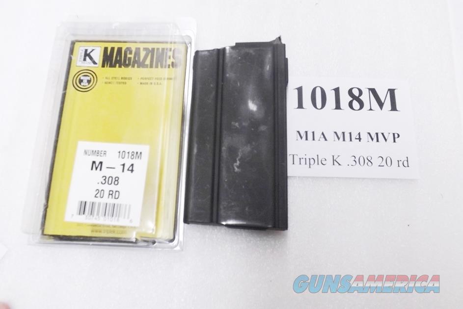 Springfield Armory M1A .308 Norinco M14 Mossberg MVP 20 Round Magazines MA5021 type New Triple K 1018M M1-A M-14 Hi-Cap Buy 3 Ships Free!  Non-Guns > Magazines & Clips > Rifle Magazines > M-14/M1A