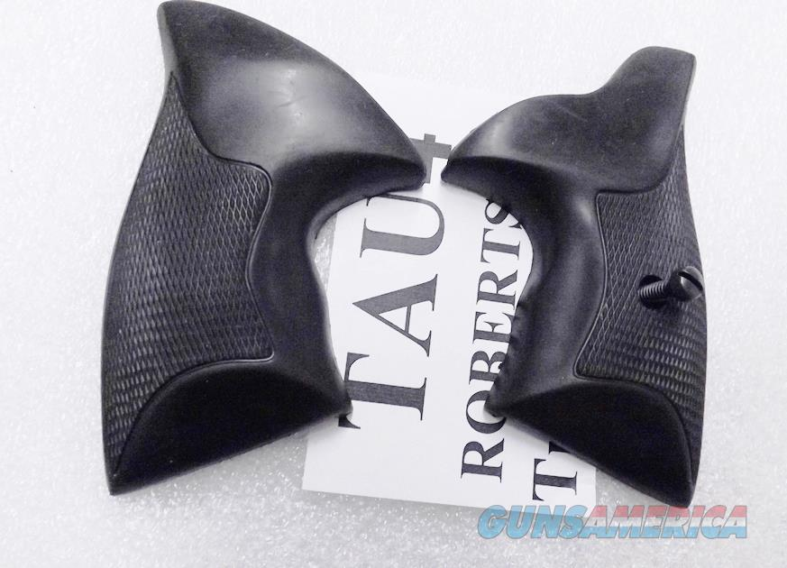 Taurus Factory Boot Grips Models 65 66 80 82 Square Butt Rubber Minor Fitting Required TAU4  Non-Guns > Gunstocks, Grips & Wood