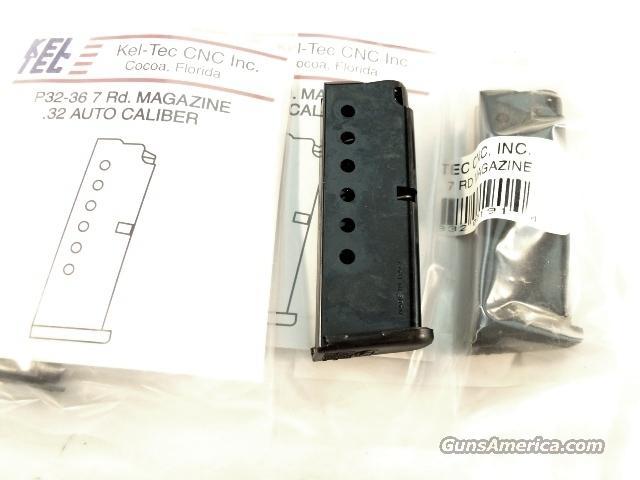 Magazine Kel-Tec .32 ACP P32 Blue Factory 7 Shot Brand New  Non-Guns > Magazines & Clips > Pistol Magazines > Other