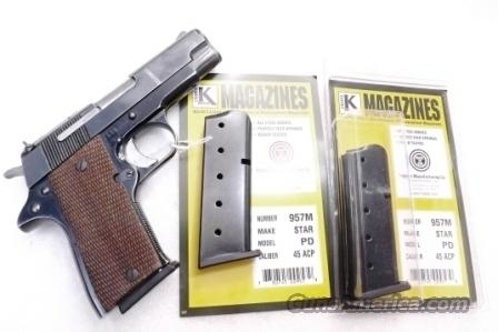 Star PD .45 ACP 6 Shot Magazine 45 Auto Compact Model Triple K XM957M   Non-Guns > Magazines & Clips > Pistol Magazines > Smith & Wesson