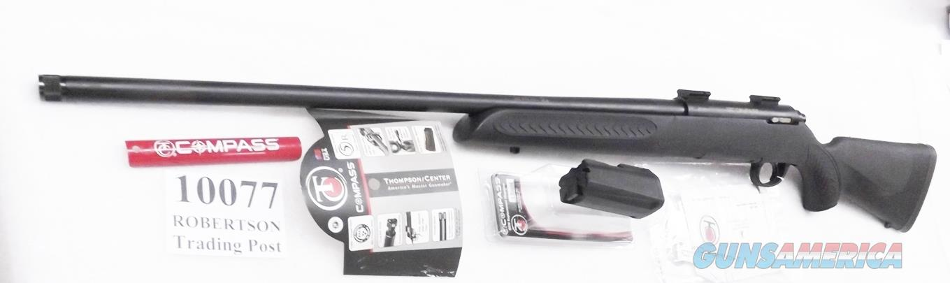 Thompson Center .300 Win Mag Compass Bolt Action 24 inch Threaded Barrel Matte Synthetic 2 Magazines Weaver Bases Excellent with Papers   Guns > Rifles > Thompson Center Rifles > Dimension