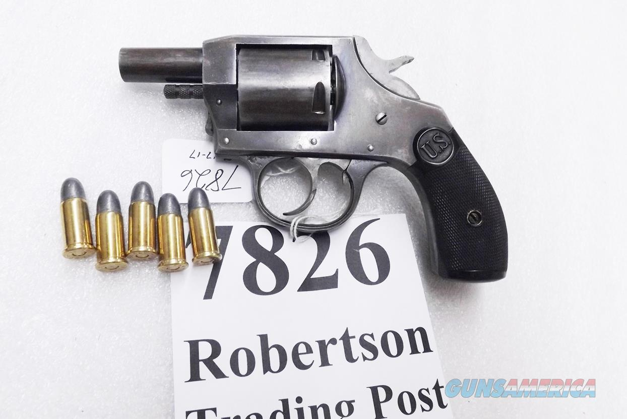 Iver Johnson US Revolver .38 S&W Automatic Hammer model ca. 1915 Large Frame 5 Shot Double Action Side Loader Roll Out Cylinder C&R CA OK  Guns > Pistols > Iver Johnson Pistols
