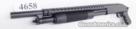 Mossberg 12 gauge Cruiser Grip Trench Gun type Heat Shield Matte Finish JIC 3 inch 18 1/2 in Cylinder Bore 6 Shot Exc Factory Demo 51340 Tactical Pump Riot Shotgun  Guns > Shotguns > Mossberg Shotguns > Pump > Sporting