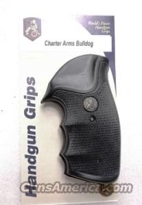 Charter Arms Revolver Grips Pachmayr Gripper Undercover Bulldog New GRCHAG Finger Groove Combat type Shock Absorbing   Non-Guns > Gun Parts > Grips > Other