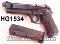 Beretta 92FS 9mm 16 Shot VG-Exc 2 Mags  Guns > Pistols > Beretta Pistols > Model 92 Series