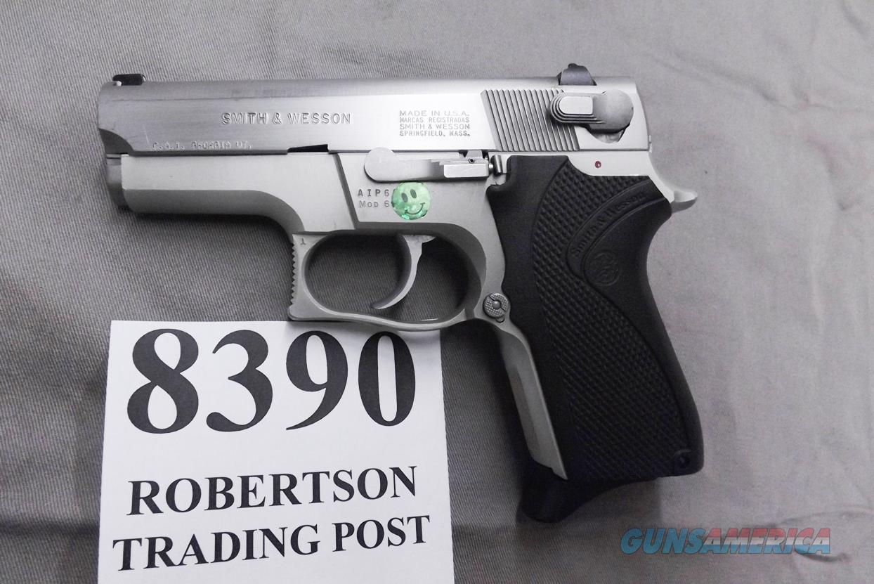 S&W 9mm 6906 Stainless Lightweight AIP Prefix, 1988 First Year of Production Square Guard Satin Trigger &  Hammer 13 shot 1 Magazine 104000 Excellent Condition  Guns > Pistols > Smith & Wesson Pistols - Autos > Alloy Frame