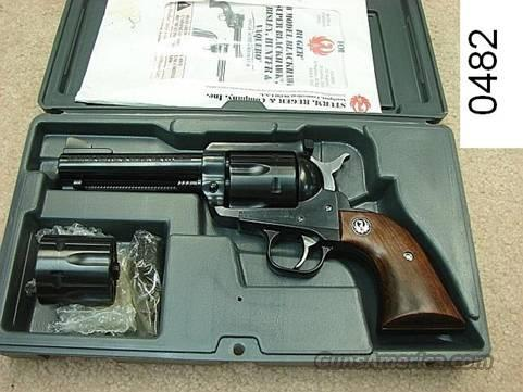 Ruger Blackhawk .45 LC/ACP 2 Cylinders BN44X Exc w/Orig Box   Guns > Pistols > Ruger Single Action Revolvers > Blackhawk Type