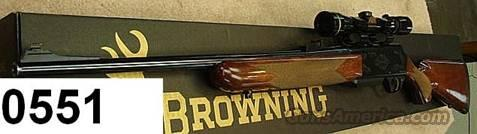 Browning BAR Safari Mk II .270 Exc 1996 with 2.5x8 VXIII Leupold  Guns > Rifles > Browning Rifles > Semi Auto > Hunting