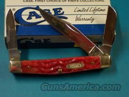 Case 6333 SS Small 3 Blade Red Bone Centennial 1989 Mint in Box  Non-Guns > Knives/Swords > Knives > Folding Blade > Hand Made