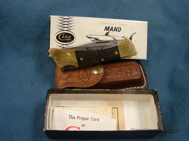 Case Mako Sharktooth 1978 Mint in Box with Scabbard  Non-Guns > Knives/Swords > Knives > Folding Blade > Hand Made
