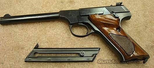 Colt Targetsman Blue 6 inch VG Adjustable Sights Mfg 1975  Guns > Pistols > Colt Automatic Pistols (22 Cal.)