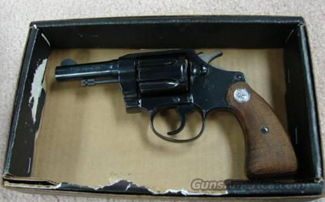 "Colt Detective Special Blue 3"" Exc to Near-Mint w/Orig Box Mfg 1972  Guns > Pistols > Colt Double Action Revolvers- Modern"