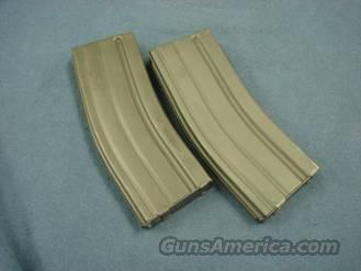 Colt AR-15 .223 Near Mint Pair of Steel Pre-Ban 30 Shot Clips   Non-Guns > Magazines & Clips > Rifle Magazines > AR-15 Type