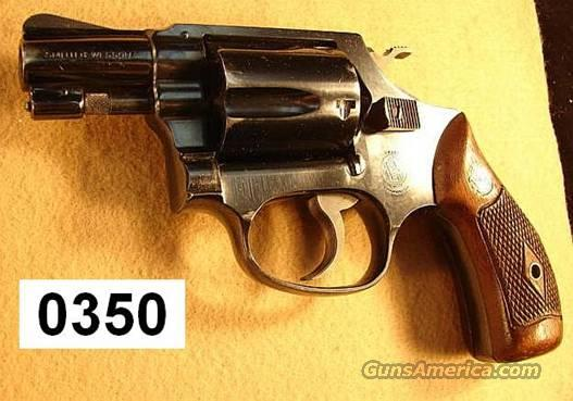 S&W Pre-36 2 in Blue 1956 Mfg VG-Exc Dia. Grips  Guns > Pistols > Smith & Wesson Revolvers > Pocket Pistols