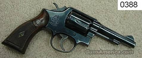 S&W10-5 Pencil Bbl 4 in .38 Spl VG Mfg. 1963  Guns > Pistols > Smith & Wesson Revolvers > Full Frame Revolver