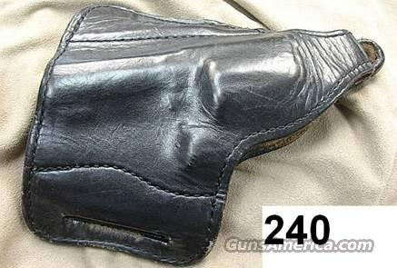 Holster: S&W 3 in K G&G Lined Leather G-VG Cond LH   Non-Guns > Holsters and Gunleather > Concealed Carry