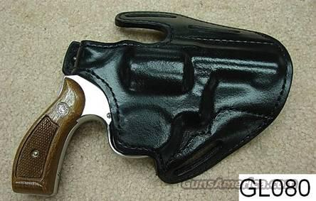 Holster: S&W 3 in K G&G Black Lined Leather Holster Brand New   Non-Guns > Holsters and Gunleather > Revolver