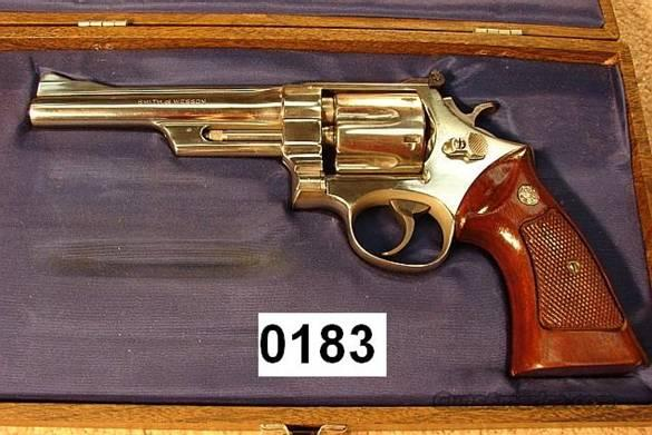 S&W 28-2 1971 Re-Nickel 6 in VG-Exc  Guns > Pistols > Smith & Wesson Revolvers > Full Frame Revolver