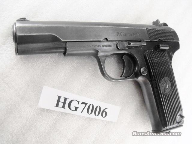 Zastava 7.62x25 M57 Tokarev 1 Magazine 762 32  1965 Cold Warrior	Not C&R	  Guns > Pistols > Surplus Pistols & Copies