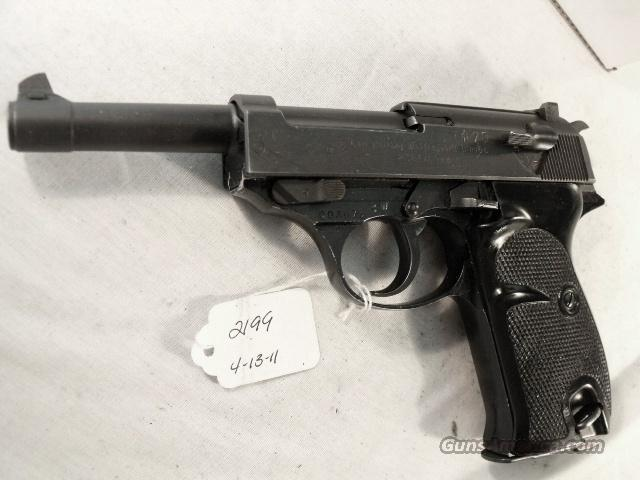 Walther 9mm P-38 variant Parkerized VG 1958 P38 Federal German Police Bundespolizei   Guns > Pistols > Walther Pistols > Post WWII > P38