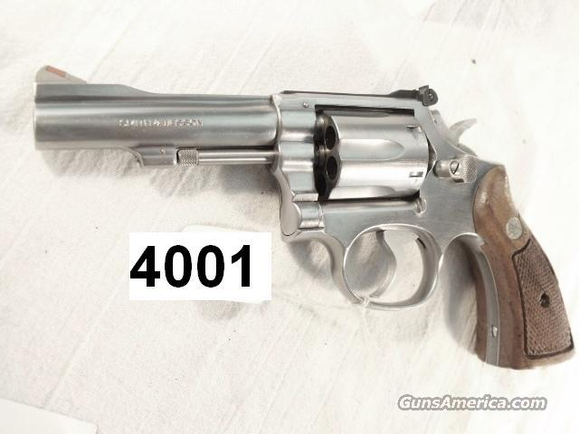 S&W .38 Special Model 67-1 K-38 Combat Masterpiece Stainless 4 inch VG 1981 Los Angeles County Sheriff's Department  Bangor Punta Pinned Barrel  Guns > Pistols > Smith & Wesson Revolvers > Full Frame Revolver
