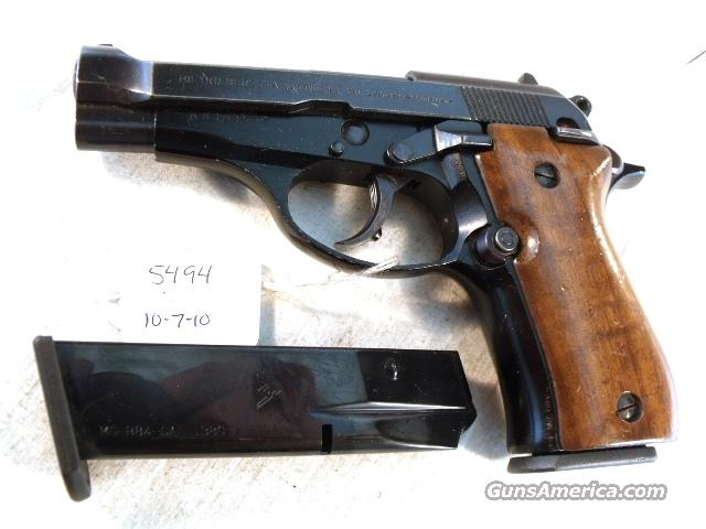 Beretta .380 Cheetah 84 Blue 1977 VG ONE Magazine Model 84 M84 M-84 380 Automatic Israeli Police  Guns > Pistols > Military Misc. Pistols Non-US