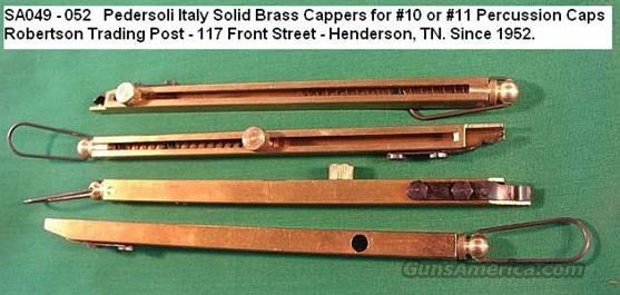 Muzzleloader Capper Brass Inline Pedersoli Italy New  Non-Guns > Cowboy Action/Western