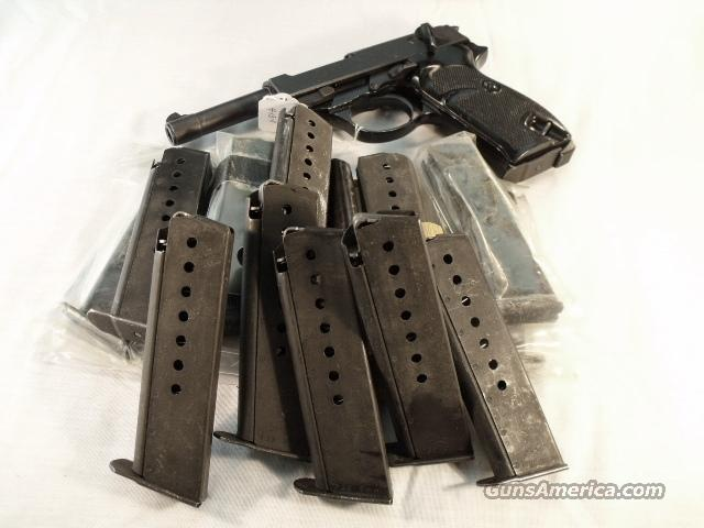 Magazine Walther P-38 9mm P-1 Factory 8 Shot Military Parkerized VG-Exc Condition 1980s German Federal Police P38 P1 P5 Clip  Guns > Pistols > Walther Pistols > Post WWII > P38