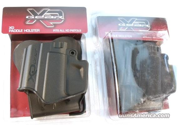 Holster Springfield Armory XD Factory Paddle Type Polymer NIB Easy On Easy Off fits XD9 XD40 XD45 also Smith & Wesson SW99 Walther 99 XD-9 XD-40 SW-99   Non-Guns > Holsters and Gunleather > Concealed Carry