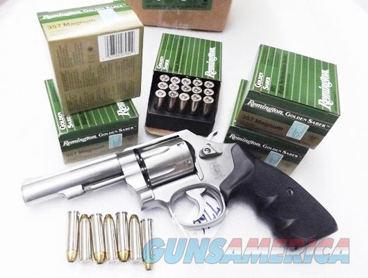Ammo: .357 Magnum 125 round lot of 5 Boxes Remington Golden Saber 125 grain JHP 357 Brass Jacketed Hollow Point Flying Ashtray Black Talon type Bullets Ammunition Cartridges GS357MA 5x$19.80 = $99.00  Non-Guns > Ammunition