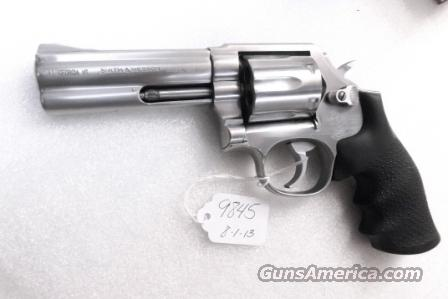 S&W .357 Magnum model 681 Stainless 4 inch CAI Stamped ca 1986 mfg No Suffix No M Satin SS Hammer & Trigger 357 Distinguished Service Magnum Aussie   Guns > Pistols > Smith & Wesson Revolvers > Full Frame Revolver