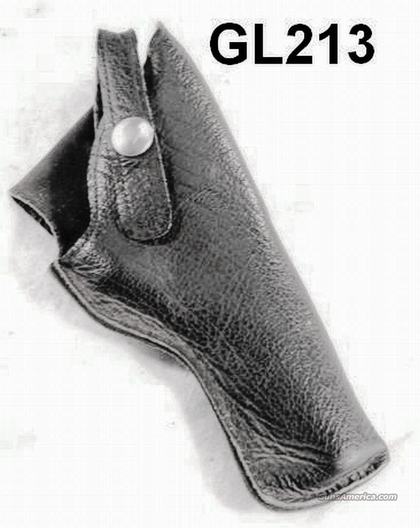 Holster J.L. Galef 1960s US Lined Leather 4 in Revolver  Non-Guns > Holsters and Gunleather > Revolver