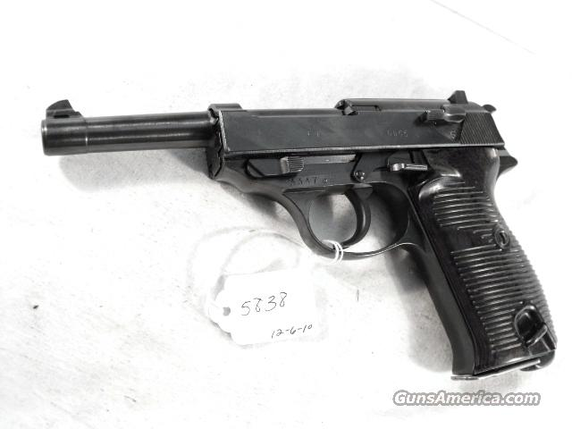 Walther P-38 WWII Waffenamt Nazi Proofed Excellent 9mm-P38   Guns > Pistols > Walther Pistols > Pre-1945 > P-38