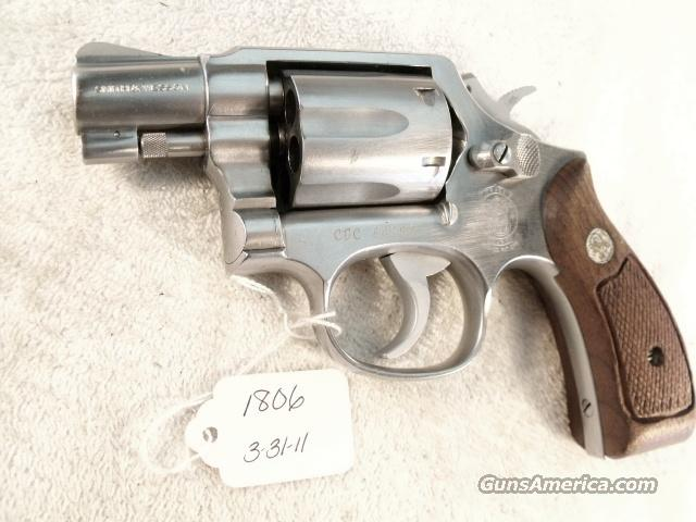 Smith & Wesson .38 Special model 64-2 Stainless Snub 2 inch Round Butt California Dept of Corrections VG 1983  Guns > Pistols > Smith & Wesson Revolvers > Full Frame Revolver