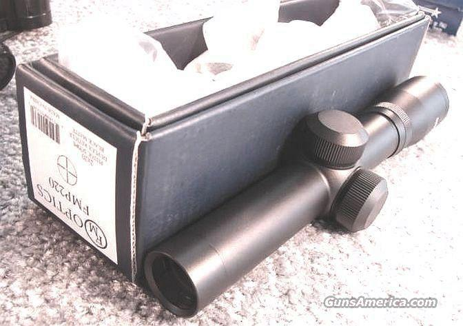 Scope Pistol LER 2x Duplex FM 1 in 20mm Matte NIB  Non-Guns > Scopes/Mounts/Rings & Optics > Rifle Scopes > Fixed Focal Length