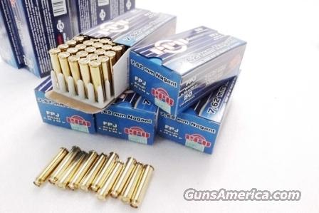 Ammo: 7.62 Nagant .32 Revolver 200 round Lot of 4 Boxes 98 grain Full Length Brass Case for 1895 Russian Nagant Revolvers  32 caliber 762x38mmR 4x$29.75   Non-Guns > Ammunition