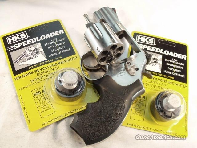 Speedloader HKS 586A Smith & Wesson 586 686 6 Shot Taurus 65 66 Ruger GP100   Non-Guns > Magazines & Clips > Pistol Magazines > Smith & Wesson