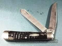 Knife  Case 6254 SS Trapper Dark Bone  2 Dot 1978, Near Mint PK020   Non-Guns > Knives/Swords > Knives > Folding Blade > Imported