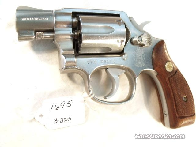 Smith & Wesson .38 Special model 64-2 Stainless Snub 2 inch Round Butt California Dept of Corrections VG 1984  Guns > Pistols > Smith & Wesson Revolvers > Full Frame Revolver