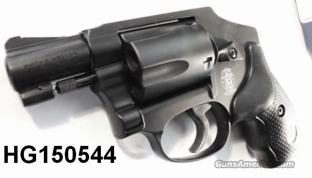 Smith & Wesson .38 Special +P model 442-2 No Lock Airweight Centennial Matte Blue 38 Spl  NIB S&W number 150544 Pre-lock Prelock Style   Guns > Pistols > Smith & Wesson Revolvers > Pocket Pistols