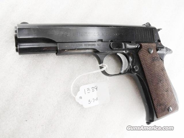 Star Spain 9mm Model BS Colt Government Size Steel Frame 1971 Israeli Army Police VG-Exc 1 Magazine   Guns > Pistols > Surplus Pistols & Copies