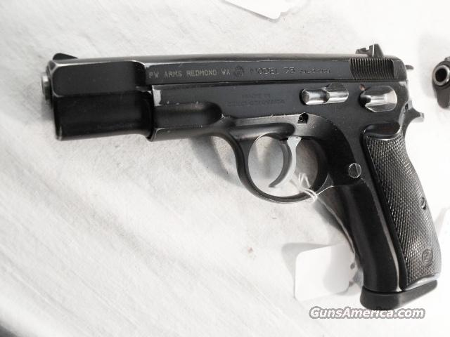 CZ-75 9mm Czech Police 1992 VG 1 Mag CZ75 CZ model 75 Ceska Zbrojovka  Guns > Pistols > Surplus Pistols & Copies