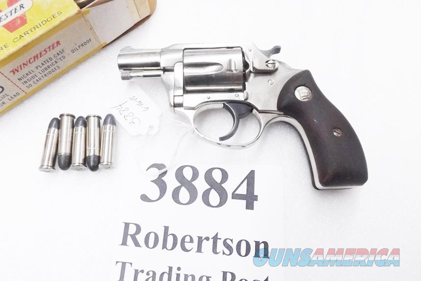 Charter Arms .38 Special model Undercover 2 inch Nickel Snub VG mfg. ca. 1969   Guns > Pistols > Charter Arms Revolvers
